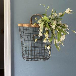 Magnolia Market wall basket